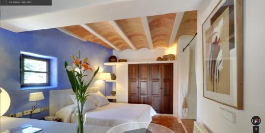 Can Curreu Hotel Rural en Ibiza, tour virtual Google Business View